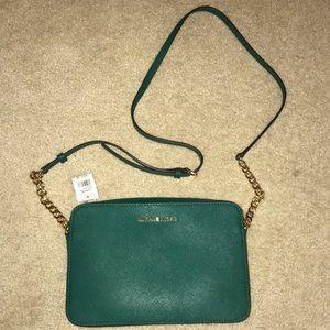 NWT Michael Kors Crossbody bag - Green